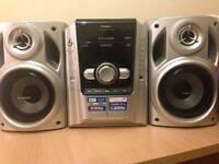 New Panasonic hi fi system