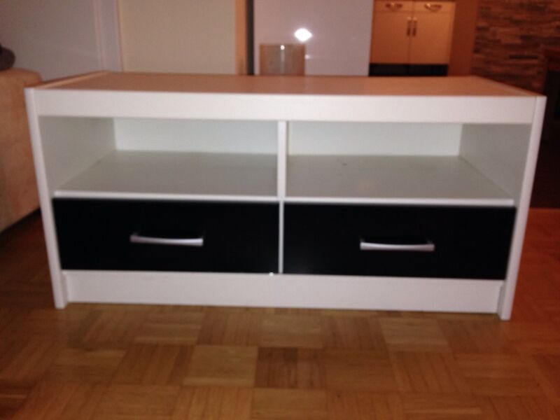 tv schrank wei mit schubladen in nordrheinwestfalen. Black Bedroom Furniture Sets. Home Design Ideas