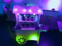 Sweet Cart/candy buffet hire. Birthdays / weddings. £40 per day incl free delivery within 50 miles