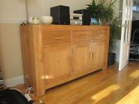 Solid Oak Sideboard/Dresser - available for viewing/collection now. £200.