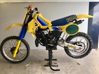 "Suzuki RM250 1982 ""rare collector"" EVO bike"