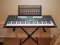 Yamaha Keyboard Model EZ.200 with stand,song book and fully instructions