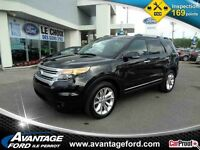 2014 Ford Explorer 4WD XLT/Certifie/Cuir/Toit/Cruise/Bluetooth/S