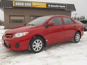 2013 Toyota Corolla CE D package w/ Sunroof