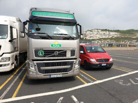 We do Europe! UK to Europe transport specialists. Plus France Spain and Germany too....