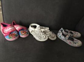 Bundle of girls shoes size 4-6