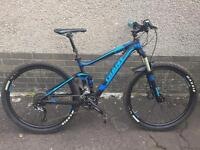 Giant Stance 2015 full suspension mountain bike with seat dropper