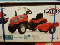 Tractor And Trailer Ride on AGE 2-5 YEARS BRAND NEW IN BOX
