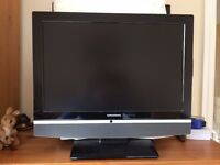 "1 x Grundig 19"" LCD TV with remote"