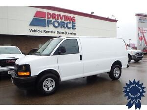 2017 Chevrolet Express Cargo Van Rear Wheel Drive - 12,238 KMs