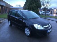2008 Vauxhall Zafira 1.9 Cdti 7 seater 12 months mot/3 months parts and labour warranty