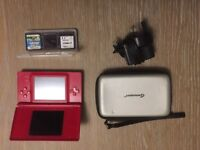 Nintendo 2ds lite with 3games