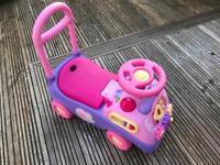 Disney Sit On Musical Car