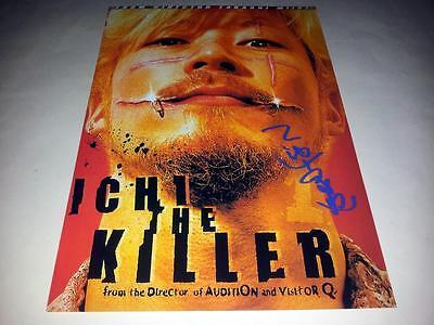 "ICHI THE KILLER PP SIGNED 12""X8"" POSTER TAKASHI MIIKE"