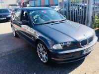 BMW 318 SE AUTOMATIC 2001 5 DOORS PETROL DRIVE NICE LOW MILEAGE