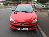 PEUGEOT 206 1.4 WITH NEW MOT AUGUST 2019