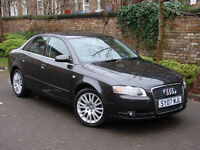 EXCELLENT DIESEL!!! 2007 AUDI A4 2.0 TDI 170 SE 4dr, 6 SPEED, LONG MOT, AA WARRANTY AVAILABLE