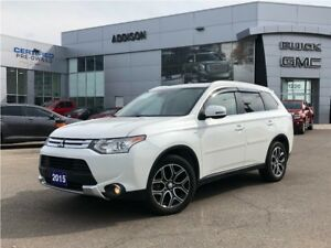 2015 Mitsubishi Outlander GT - One Owner, Accident Free