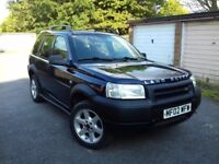 LEFT HAND DRIVE*4X4*LAND ROVER FREELANDER*LHD*NO PX FOR TOYOTA AUDI MERCEDES VOLVO