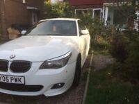 BMW 530D M-SPORT WHITE AUTO REMAPPED...PX SWAP REPLICA DSG BMW AUDI MERC SEAT VW AUTO CASH OFFERS..!