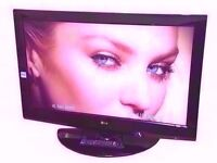 "LG 37"" LCD TV BUILT IN FREEVIEW, MONITOR."