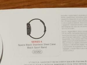 Stainless Steel Apple Watch Series 4 44 MM Cellular