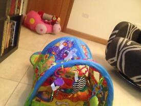 Playgro Baby Musical Puppy Tunnel Gymlike new
