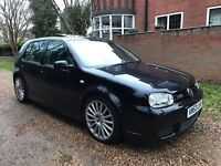 2004 Volkswagen Golf R32 5 door hatchback 3.2 v6 black