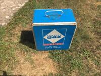 Camping gas stove in box