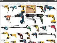WANTED hilti screw gun