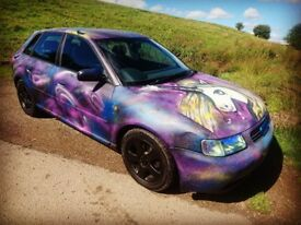 Audi A3 1.8 Turbo. Custom Paintwork. Unicorn.