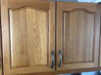 Solid wood kitchen cabinets / doors