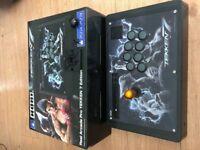 Hori Real Arcade Tekken 7 fight stick