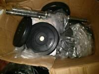 2x dumbells in total 25-30kg