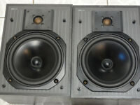 KEF C-series C20 Bookshelf Speakers great sounding speakers Must be Heard Good sensitivity