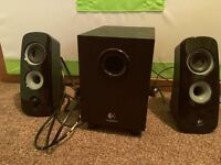 Used Logitech Speaker + Keyboard and Mouse (Optional)