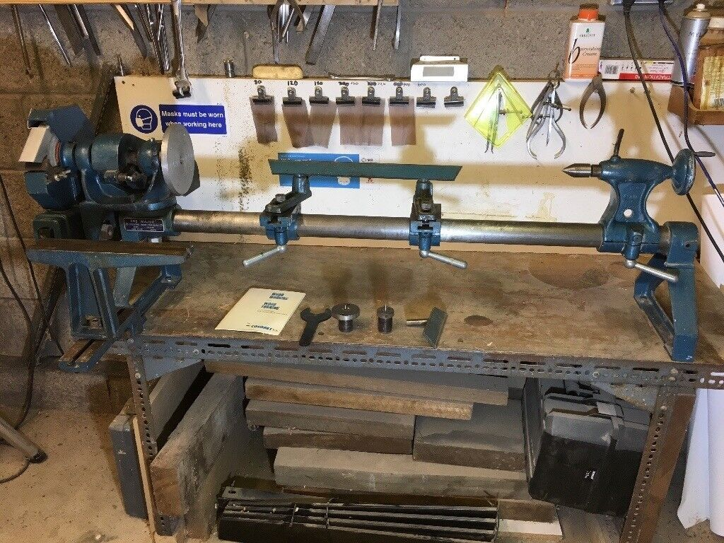 used cornet major woodworking lathe with accessories shown and bench.   in  perth, perth and kinross   gumtree