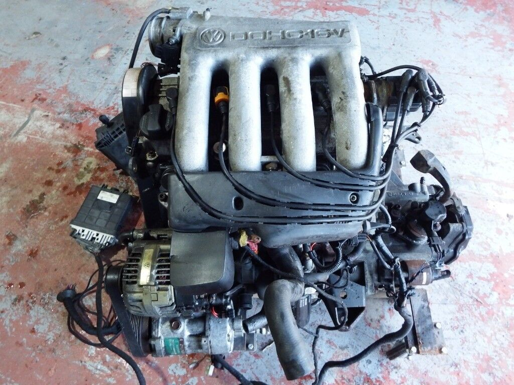 Vw 2 0l 16v Dohc Abf Engine And Gearbox With Ecu
