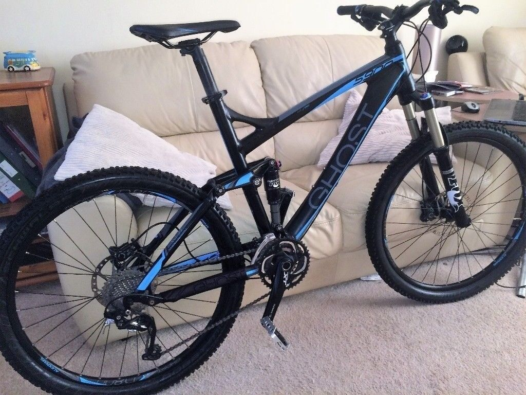 Ghost AMR 5900 Full Suspension Mountain Bike - Very Little Use - £2k new -  Sell for £900 | in Croesyceiliog, Torfaen | Gumtree