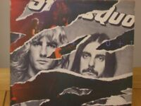 VINYL LPS - 7 ALBUMS (INCLUDING ONE DOUBLE) - QUO, SPRINGSTEEN, PHIL COLLINS, BEE GEES etc