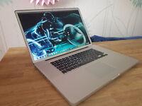 "Very Rare Apple Macbook Pro 17"" Quad i7 2.5 ghz - 750 Gb HD - 8 Gb DDr3"
