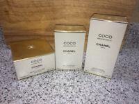 Chanel Coco Mademoiselle Eau de Parfum, Body Cream and Shower Gel