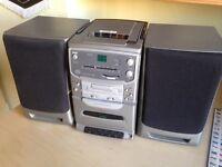 Bush CD/radio/cassette player