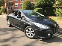 2008 Peugeot 307cc 1.6 Convertible low mileage Leathers £1795