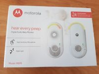 Motorola Hear Every Peep Baby Monitor - Brand New