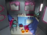 Our Generation Girl Doll Camper van and Jeep