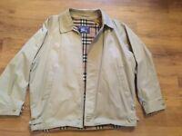 Burberry Jacket - Harrington Style - Size L