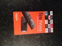 Brand New Fire TV Stick With Alexa Voice Remote