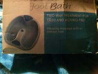 For sale one foot bath in good working order