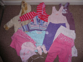 Baby girl of clothes 3-6 mths
